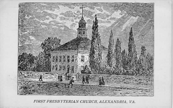 The 1775 Alexandria Meeting House