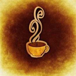Illustration of a steaming coffee cup (image courtesy of Alexas Fotos from Pixabay)